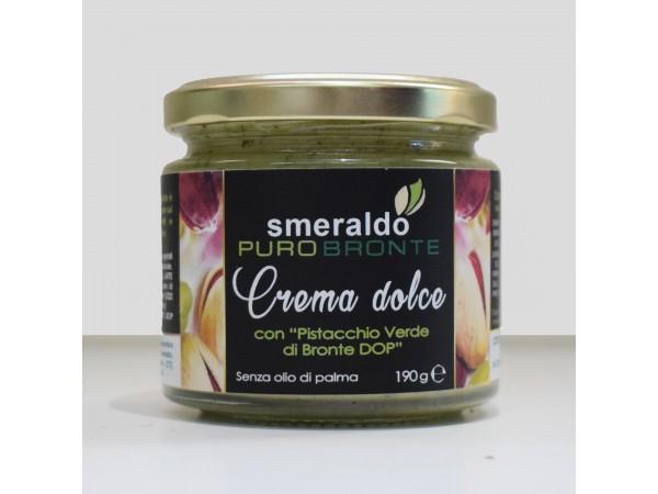 Crema dolce con Pistacchio Verde di Bronte DOP