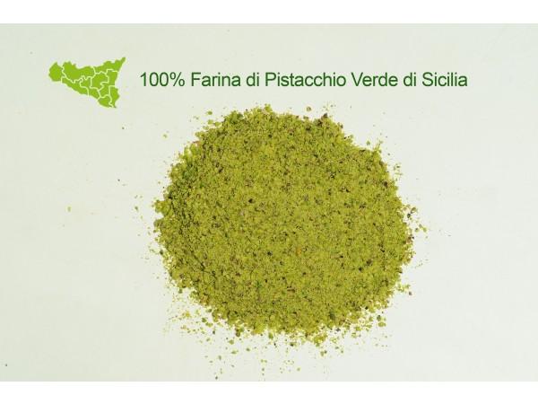 FARINA 100% PISTACCHIO VERDE DI SICILIA 250gr/500gr/1kg