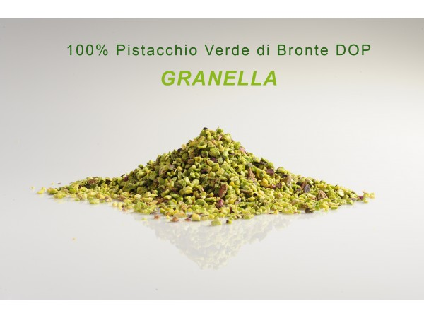 GRANELLA 100% di pistacchio verde di Bronte DOP 250gr/500gr/1kg