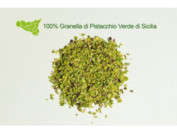 GRANELLA 100% PISTACCHIO VERDE DI SICILIA 250gr/500gr/1kg