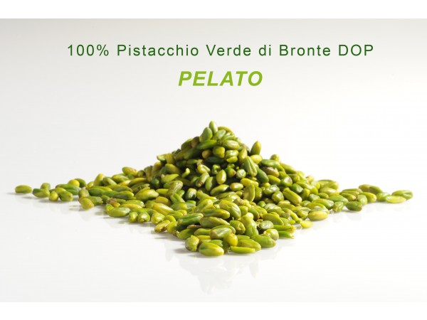 PELATO 100% di pistacchio verde di Bronte DOP 250gr/500gr/1kg