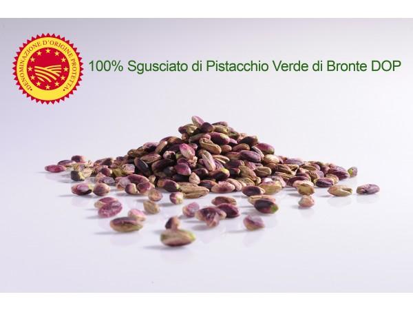 SGUSCIATO 100% PISTACCHIO VERDE DI BRONTE DOP GRANDI FORMATI 250gr/500gr/1kg
