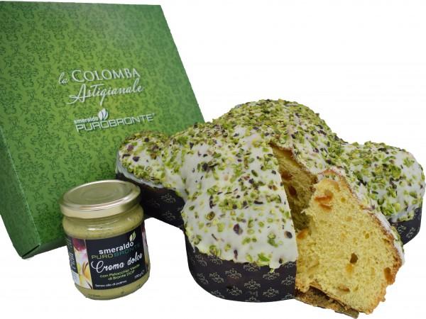 Colomba Artigianale con Pistacchio Verde di Bronte D.O.P. Limited Edition